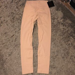 Tan high waisted leggings